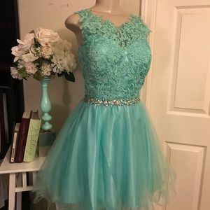 Dresses & Skirts - Tiffany Blue Prom Dress